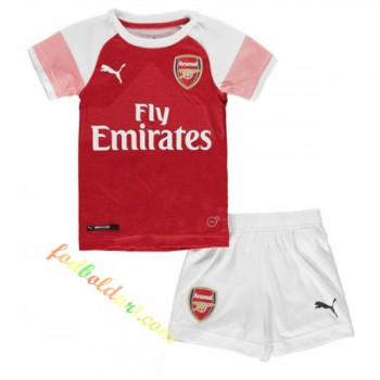Billige Fodboldtrøjer Arsenal Trøje Børn 2018-19 Hjemmebanetrøje