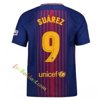 Fodboldtrøjer Barcelona 2017-18 Luis Suarez 9 Hjemmebanetrøje