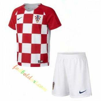 Kroatien Børn Landsholdstrøje 2018 Hjemmebanetrøje