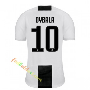 Juventus Fodboldtrøjer 2018-19 Paulo Dybala 10 Hjemmebanetrøje