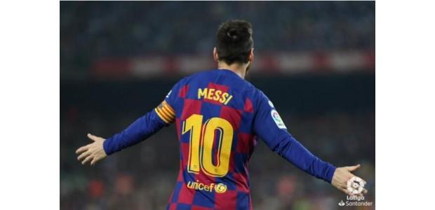 La Liga, Messi 2 passerer 2 skud, Barcelona 5-1 vinder 2 point føring