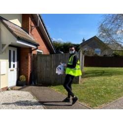 Britiske spillerbrødre bliver frivillige mod epidemier