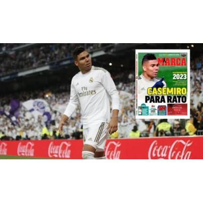 Real Madrid fornyede midtbanespiller midtbanespiller indtil 2023
