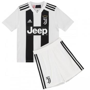 Billige Fodboldtrøjer Juventus Trøje Børn 2018-19 Hjemmebanetrøje