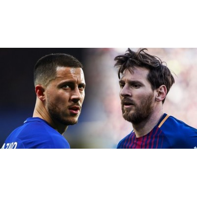 Lionel Messi godkender Barcelona for at underskrive Eden Hazard